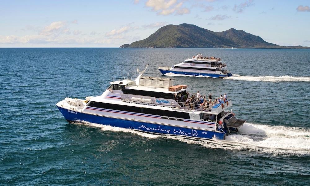 Great Barrier Reef Cruise to Marine World Activity Platform