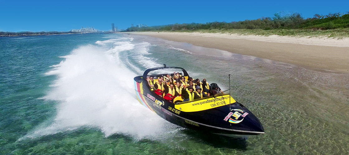 Gold Coast Express Jetboat Ride from Main Beach - SPRING PROMO