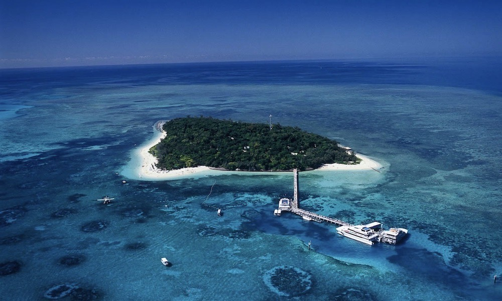 Green Island Full Day Trip + Snorkelling OR Glass Bottom Boat & Island Activities