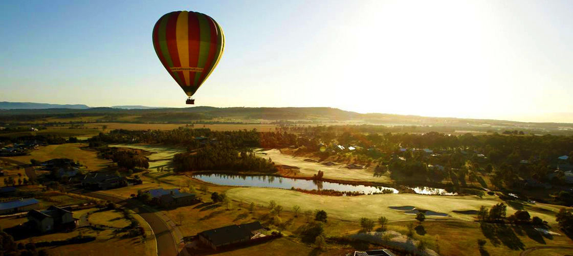 Hunter Valley Hot Air Ballooning with Champagne Breakfast