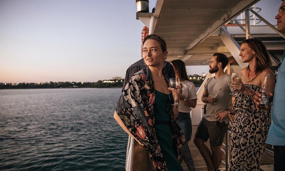 Darwin Harbour Sunset Buffet Dinner Cruise
