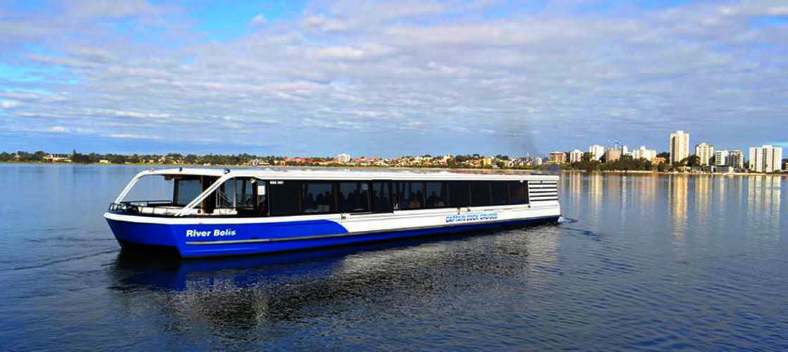 Swan River Half Day Lunch Cruise including Drinks