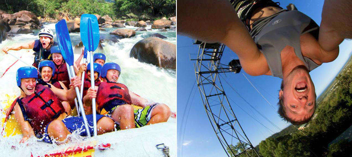 Tully River Rafting & Bungy 2 Day Package