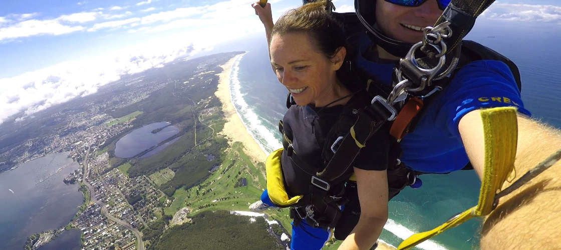 Newcastle up to 15,000ft Tandem Skydive