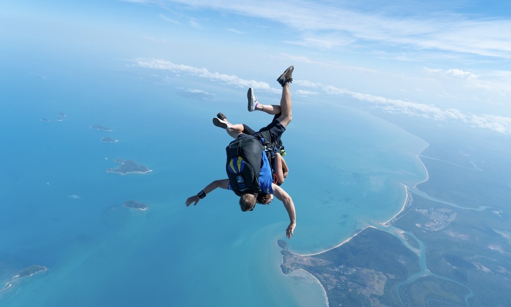Mission Beach Tandem Skydive up to 15,000ft
