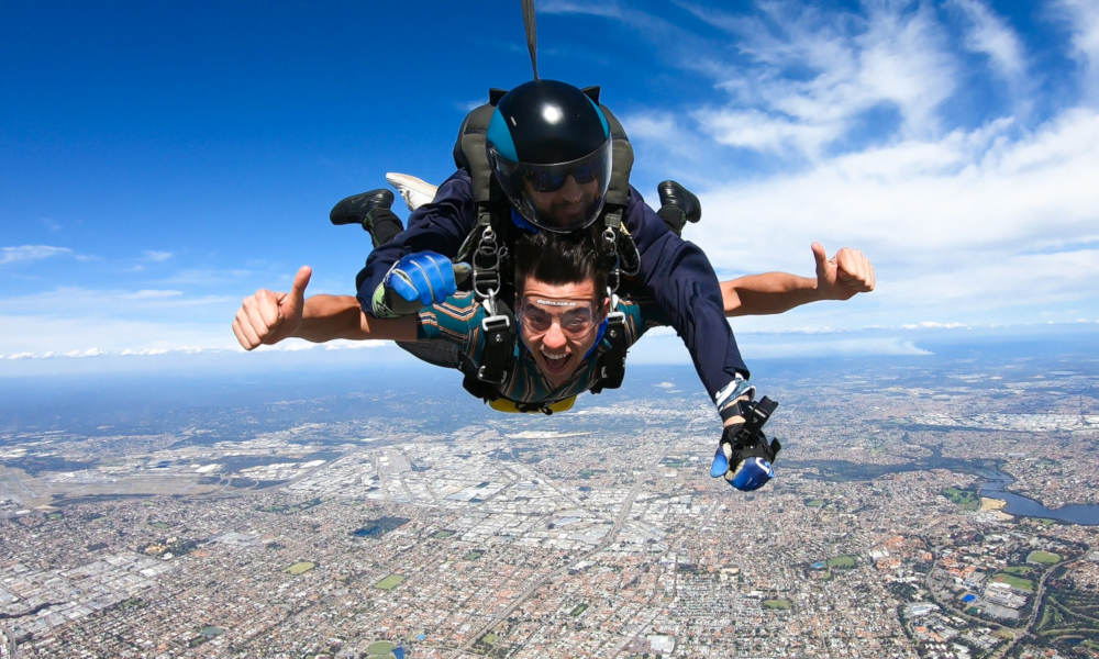 Perth Tandem Skydiving (Rockingham)