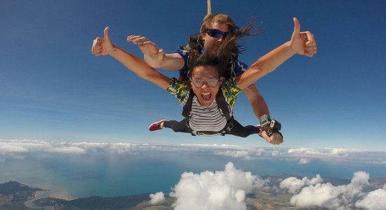 Cairns Tandem Skydive up to 14,000ft
