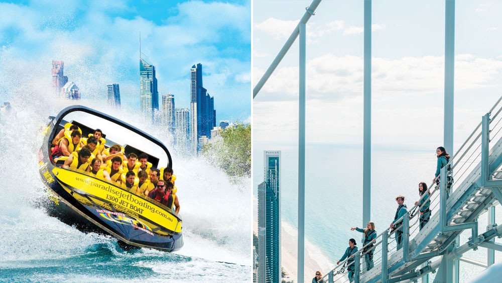 Jetboat & SkyPoint Climb Package