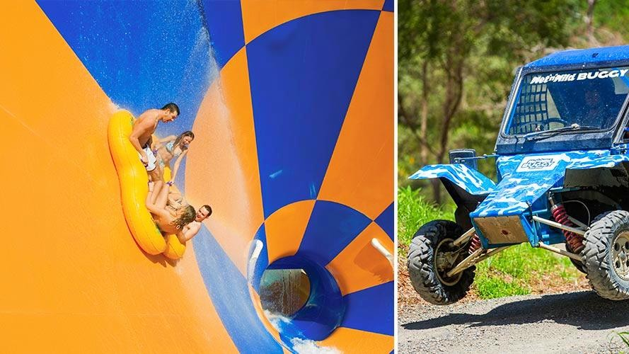 1 Day Pass for Wet n Wild PLUS Wild Buggy Experience