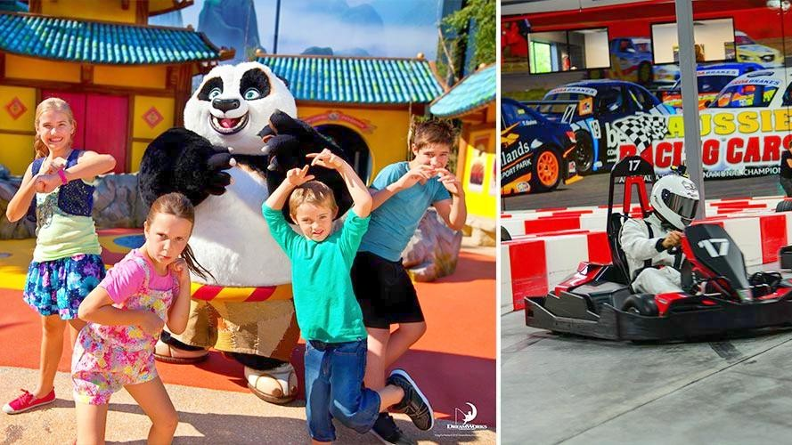 1 Day Pass for Dreamworld and WhiteWater World PLUS Game Over Admission