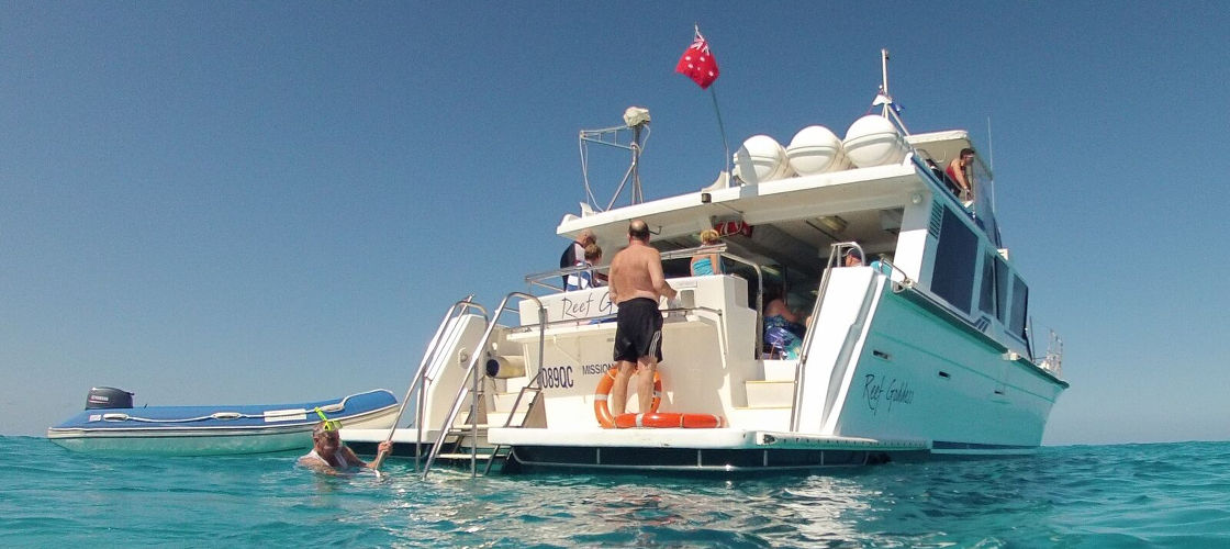 Great Barrier Reef Snorkel and Dive Cruise from Mission Beach