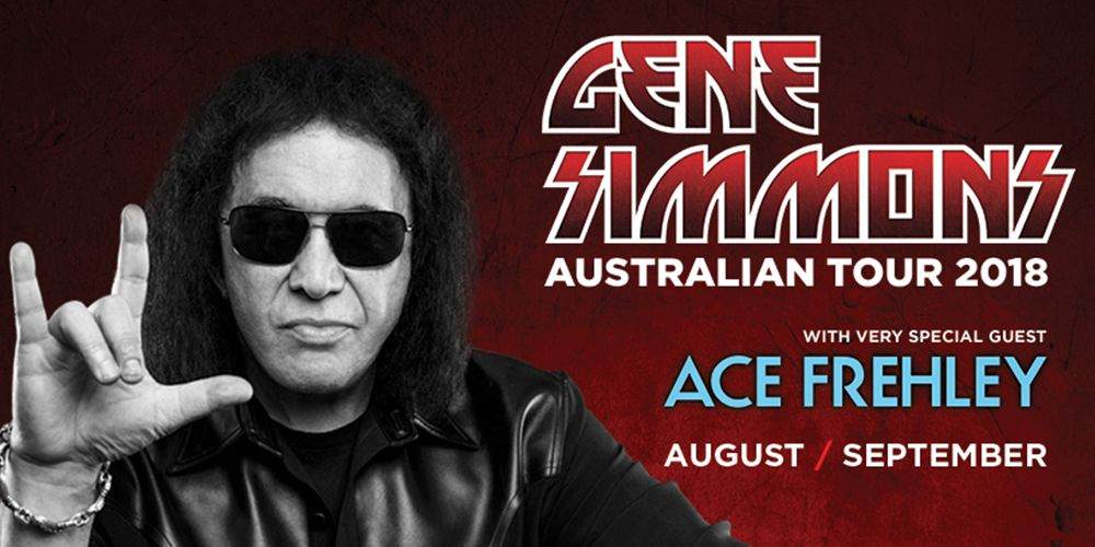 Gene Simmons with Special Guest Ace Frehley