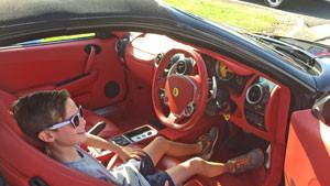 Ferrari Joyride Experience for Kids PLUS Model Ferrari To Keep - Brisbane