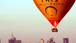 Hot Air Balloon Melbourne CBD, City Flight (Flight Only)
