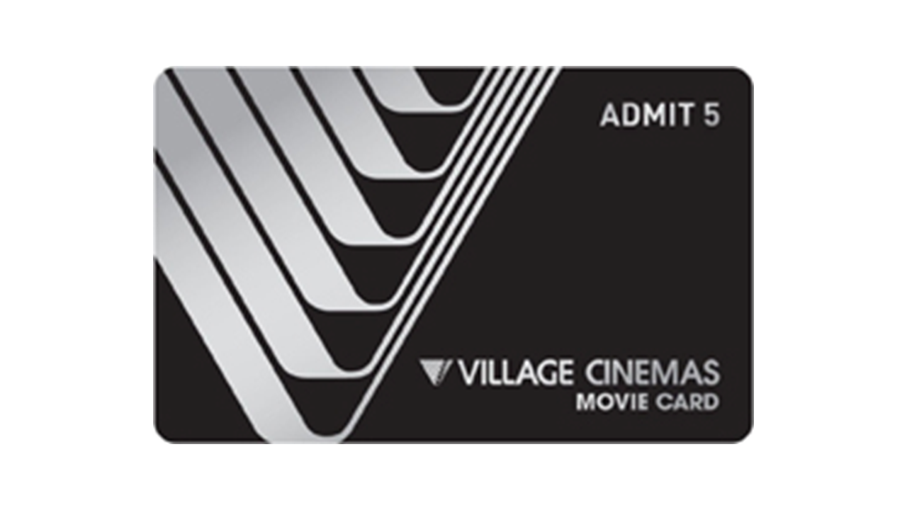 Village Admit 5 Movie Card