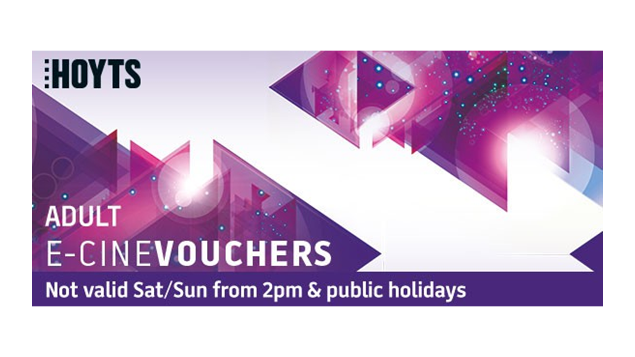 Buy HOYTS - Adult National Restricted E-Voucher