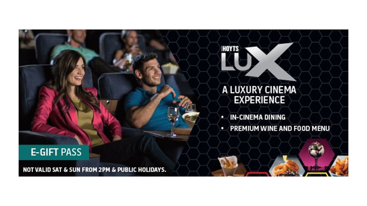 Hoyts - LUX National Restricted E-Voucher