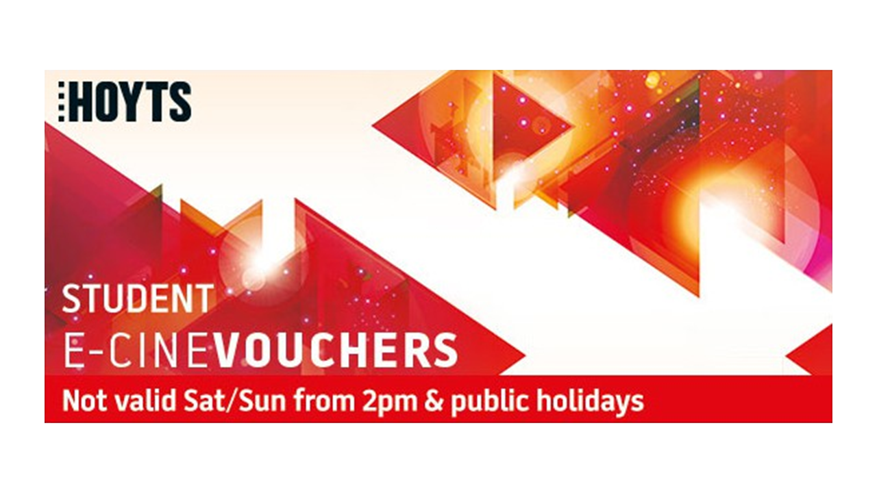 Buy HOYTS - Student National Restricted E-Voucher