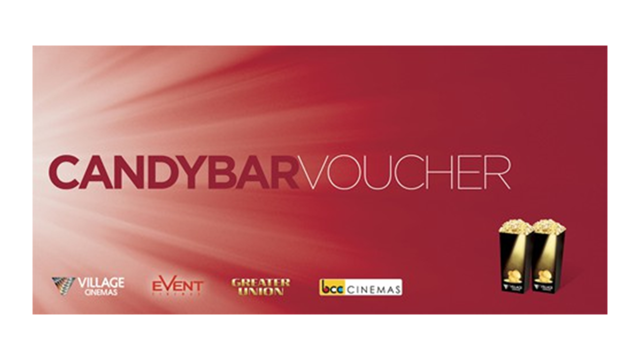 Buy Candy Bar Small Popcorn Combo E-Voucher