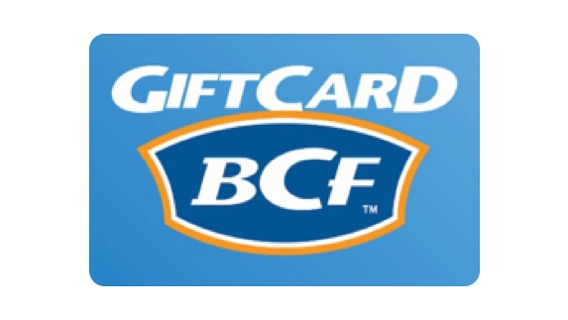 Buy BCF Boating, Camping and Fishing eGift Card