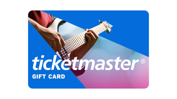 Buy Ticketmaster eGift Card