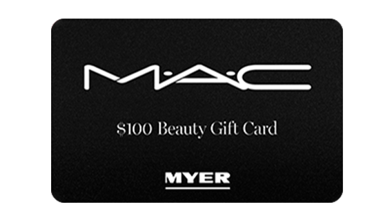 Simple As - Buy MAC by Myer eGift Card