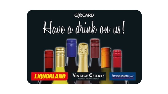 Liquorland, Vintage Cellars, First Choice Liquor Gift Card